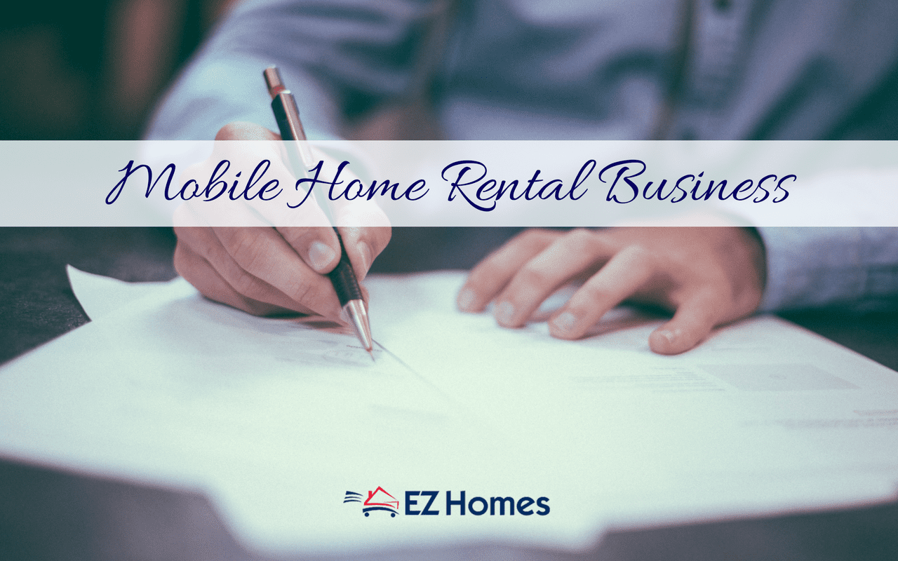 Mobile Home Rental Business - Featured Image