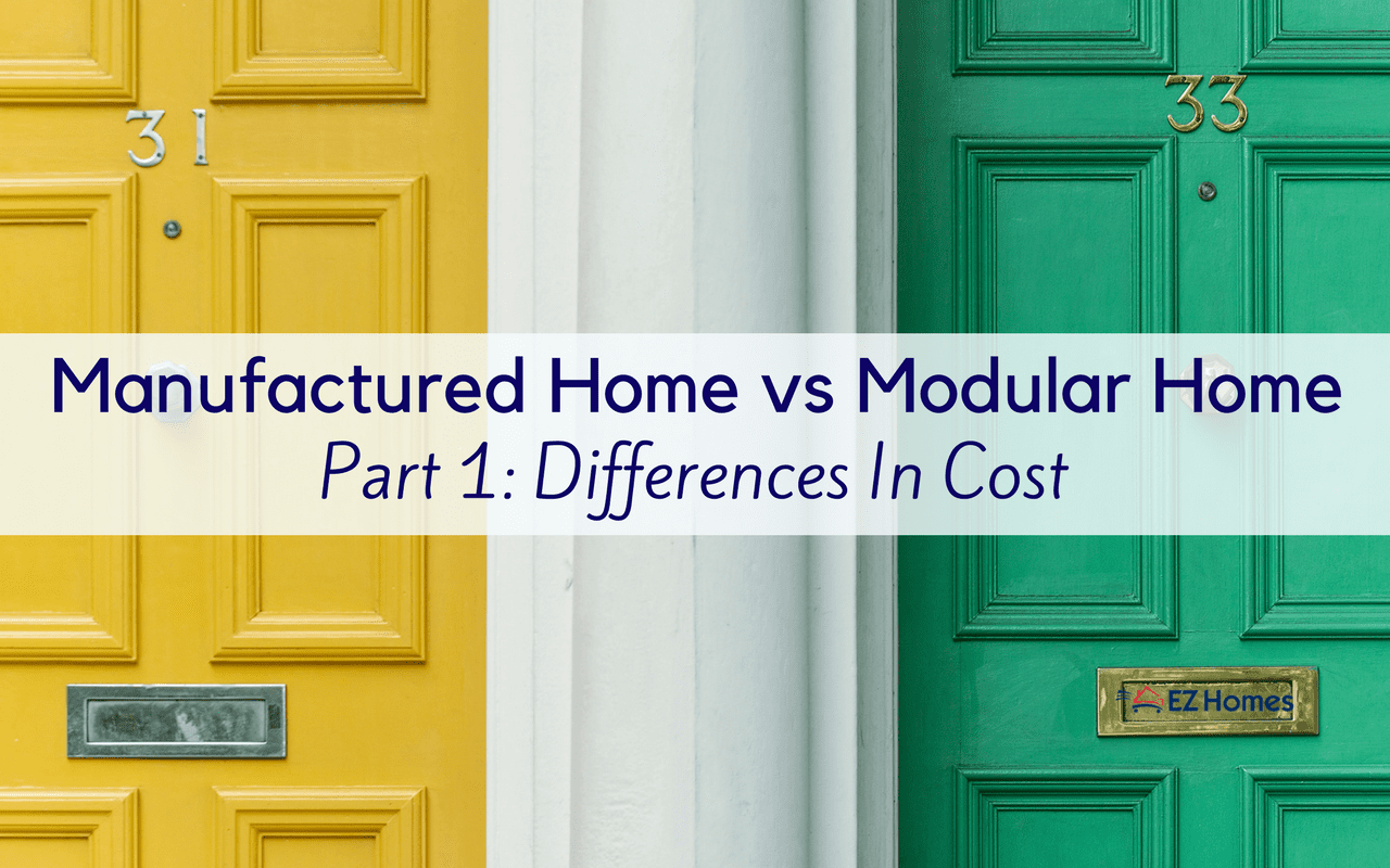 Manufactured home vs modular home part 1 differences in cost - Manufactured vs mobile home ...