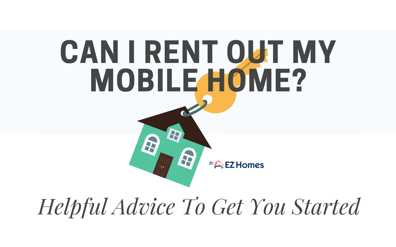 "Featured Image for ""Can I Rent Out My Mobile Home"" blog post"