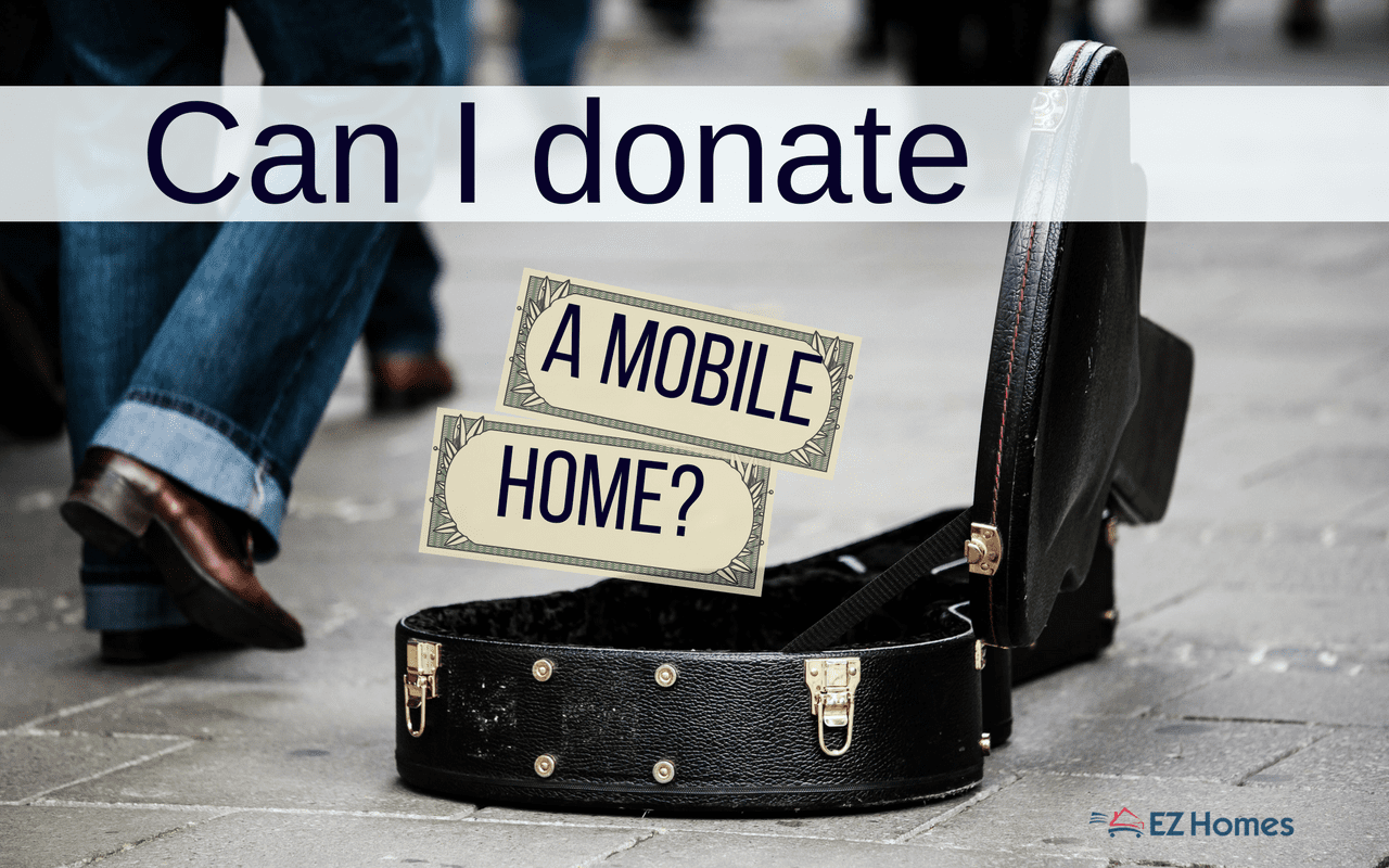 """Featured Image for """"Can I Donate A Mobile Home"""" blog post"""