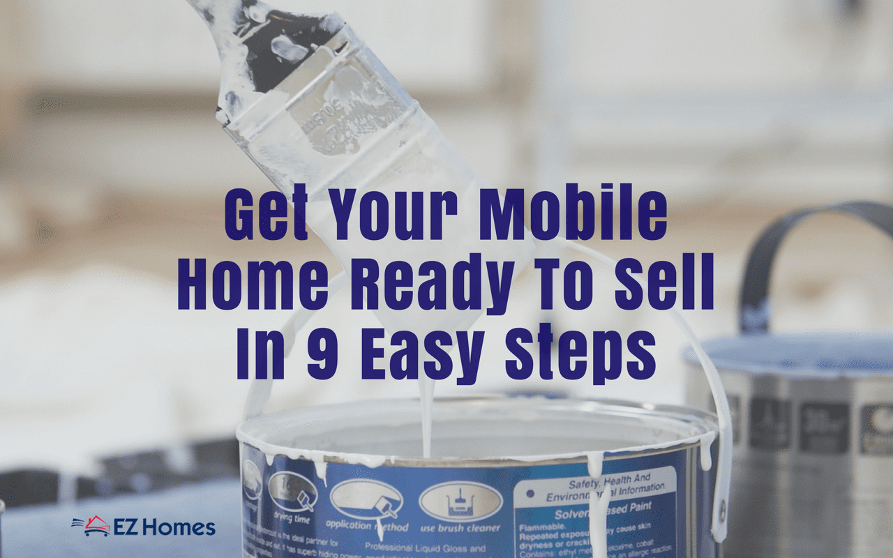 "Featured Image for ""Get Your Mobile Home Ready To Sell"" blog post"