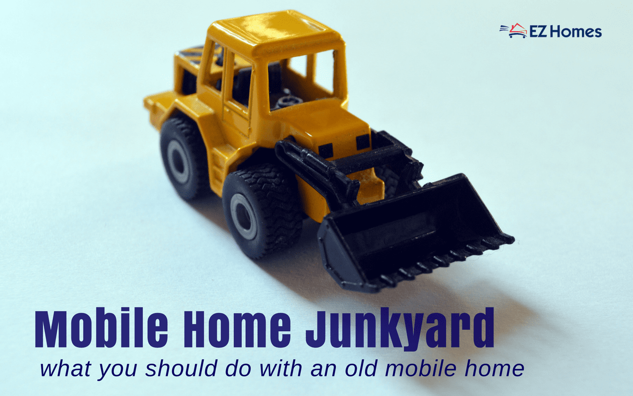 """Featured Image for """"Mobile Home Junkyard"""" blog post"""