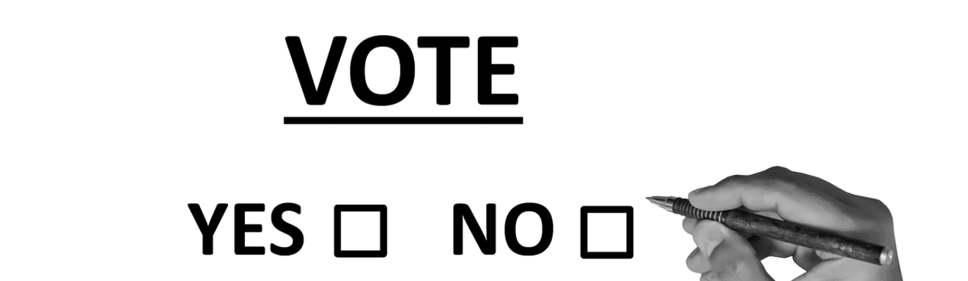 Yes or No vote