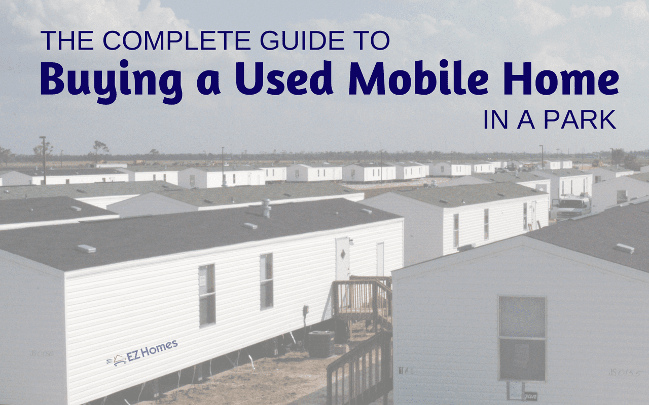 "Featured image for ""The Complete Guide To Buying A Used Mobile Home In A Park"" blog post"