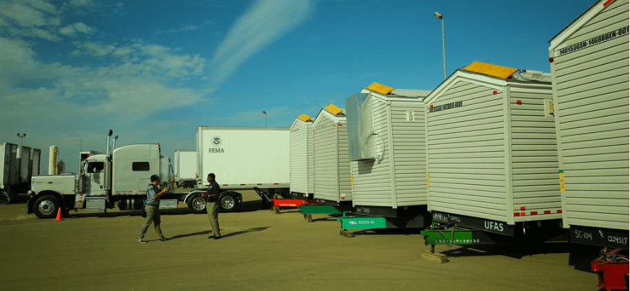 mobile home units for transportation