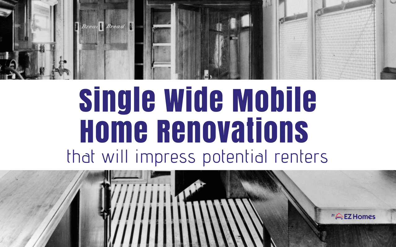 """Featured image for """"Single Wide Mobile Home Renovations That Will Impress Potential Renters"""" blog post"""