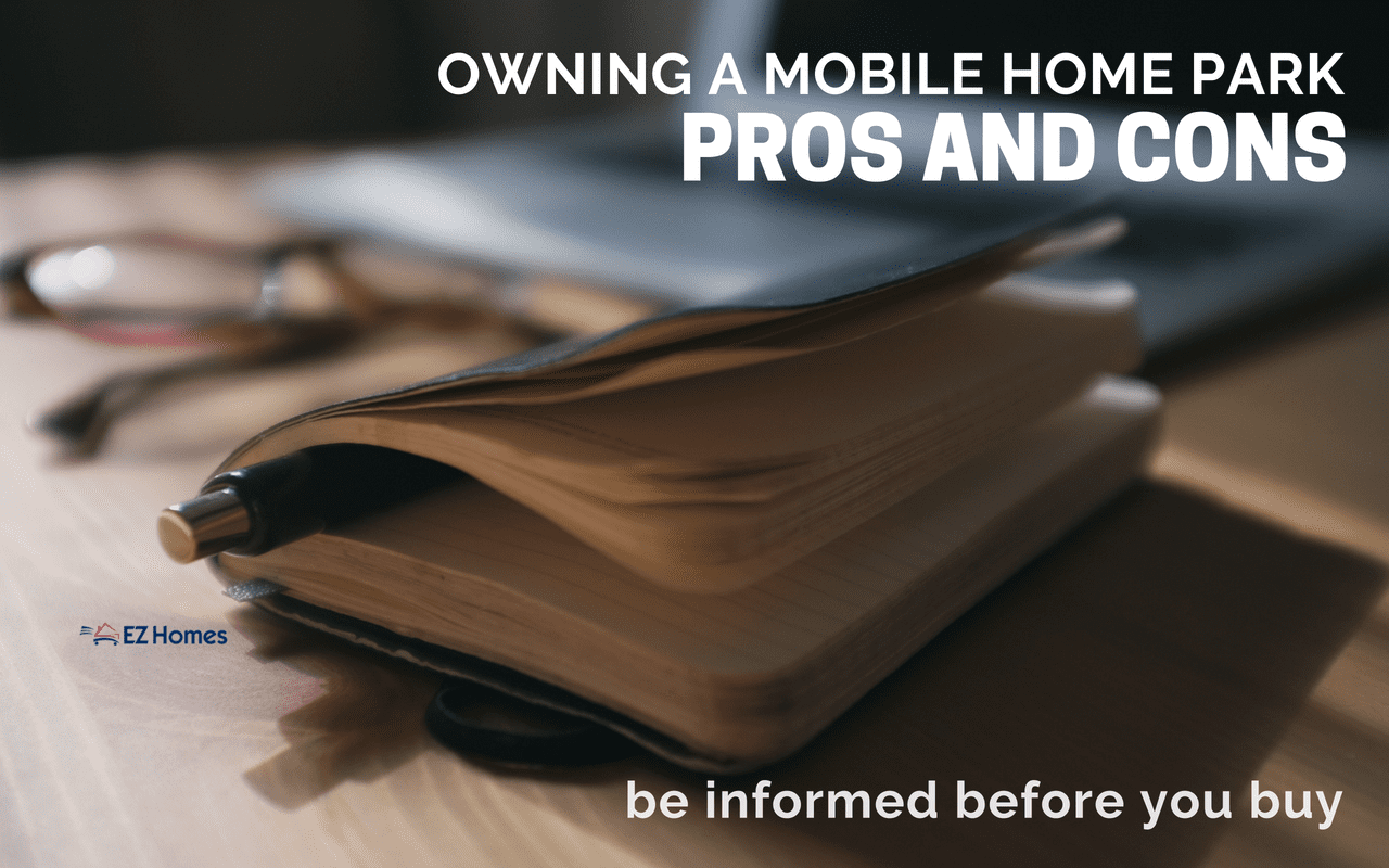 """Featured image for """"Owning A Mobile Home Park Pros And Cons _ Be Informed Before You Buy"""" blog post"""
