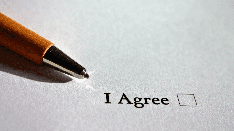 Agreement consent form
