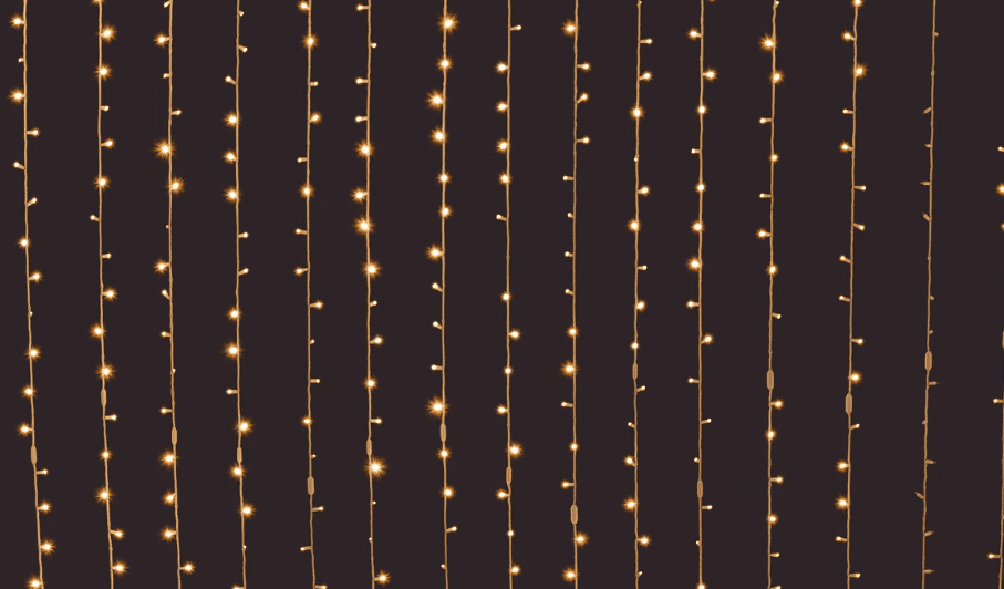 Christmas or white string lights