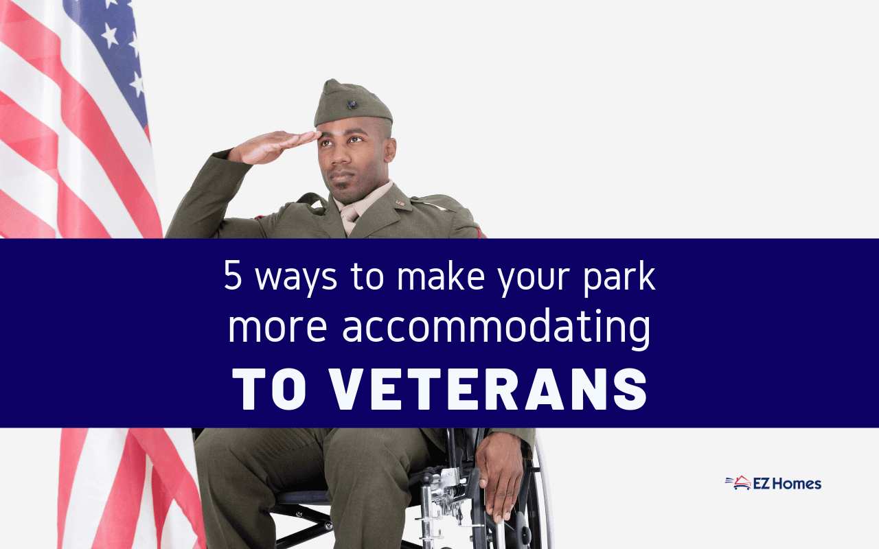"""Featured image for """"5 Ways To Make Your Park More Accommodating To Veterans"""" blog post"""