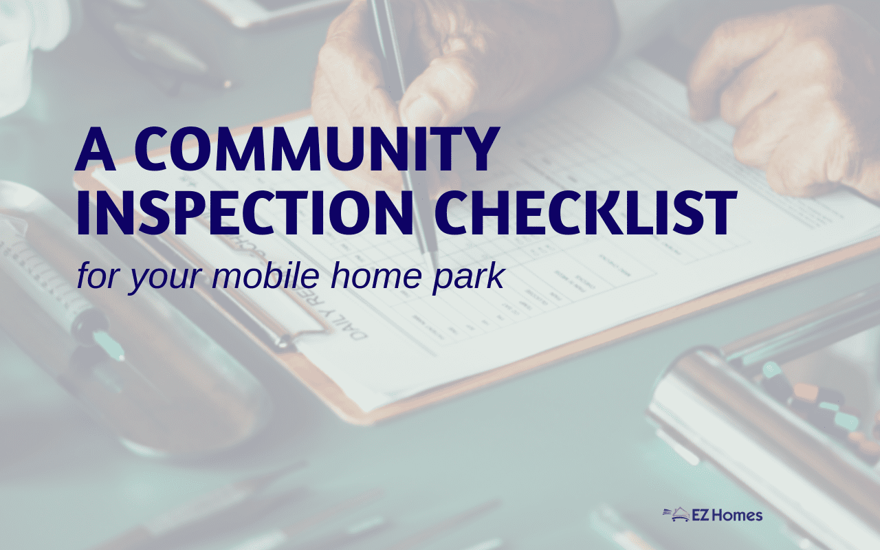 "Featured image for ""A Community Inspection Checklist For Your Mobile Home Park"" blog post"
