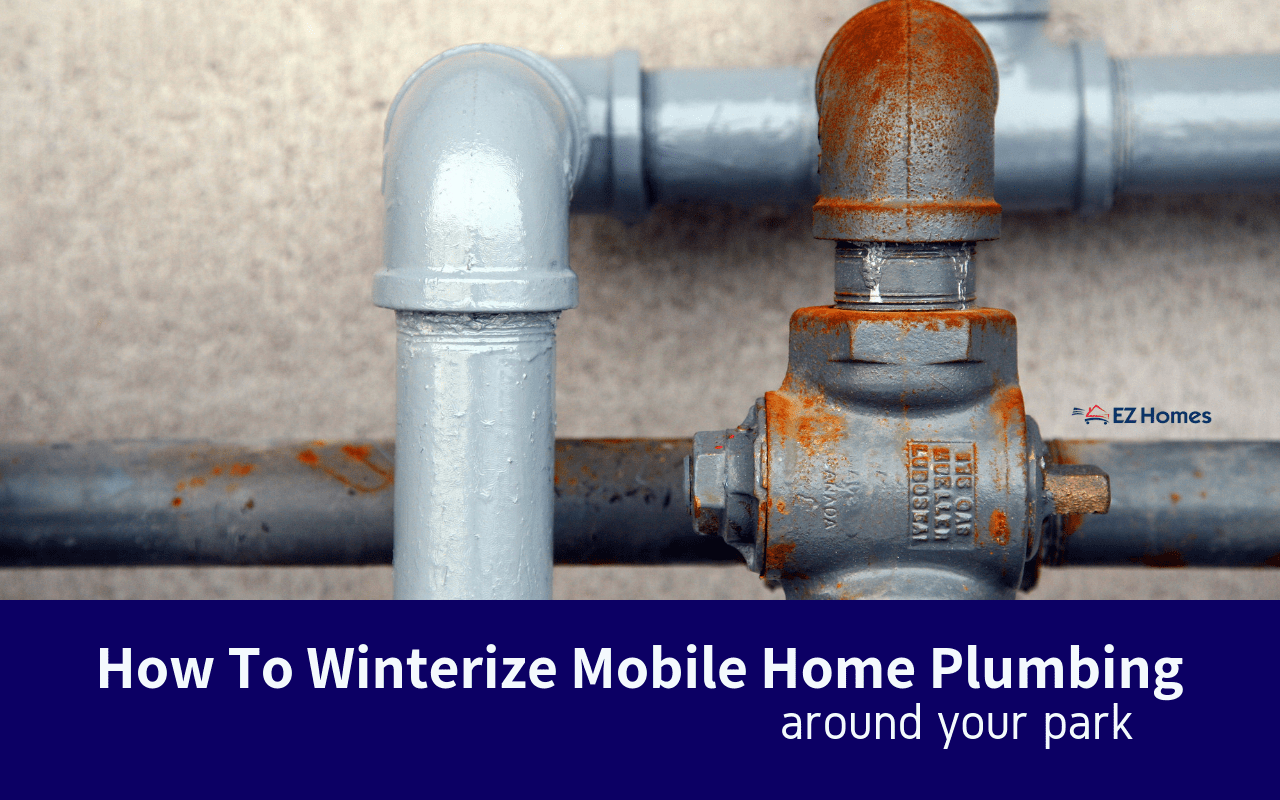 "Featured image for ""How To Winterize Mobile Home Plumbing Around Your Park"" blog post"
