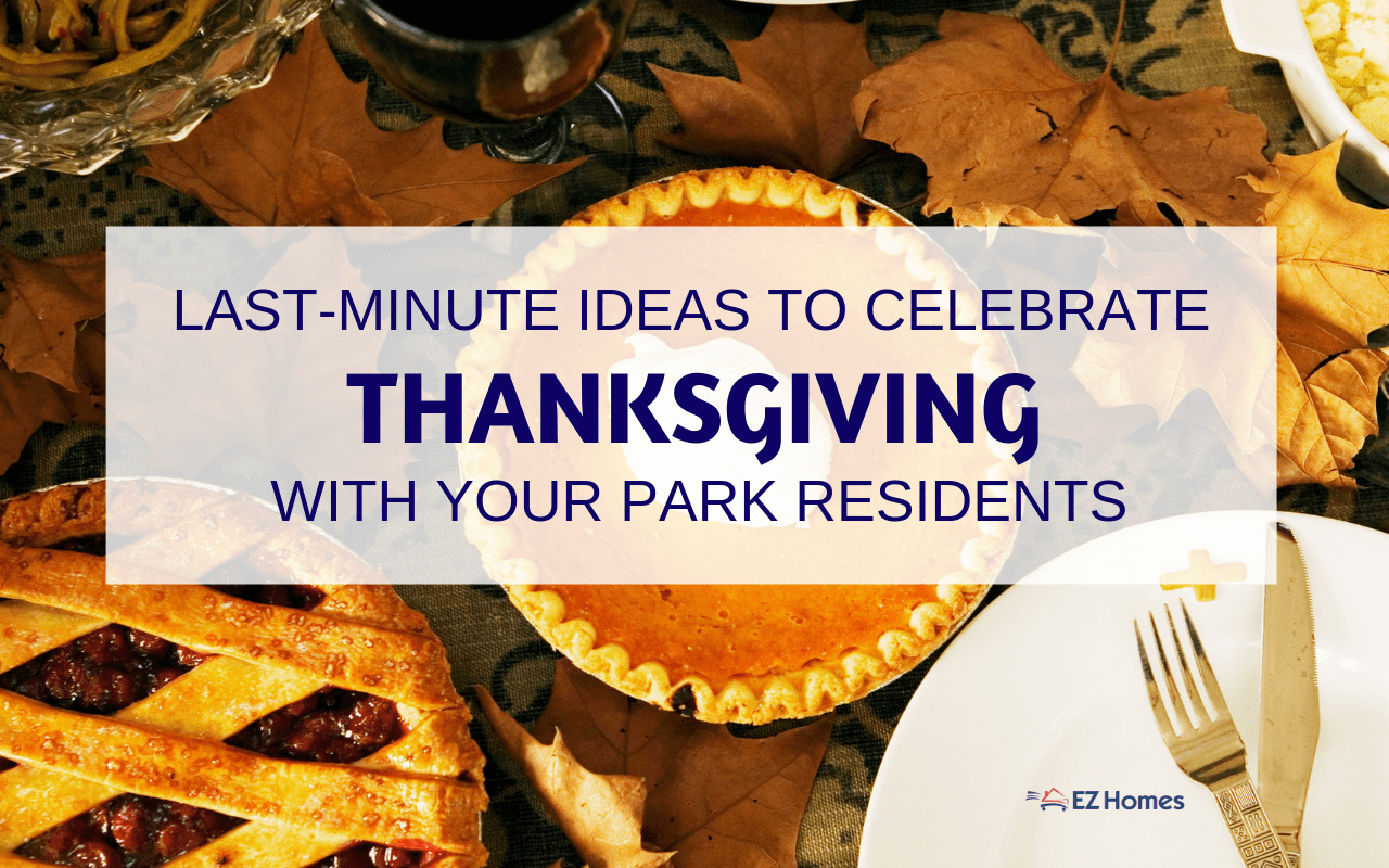 "Featured image for ""Last-Minute Ideas To Celebrate Thanksgiving With Your Park Residents"" blog post"
