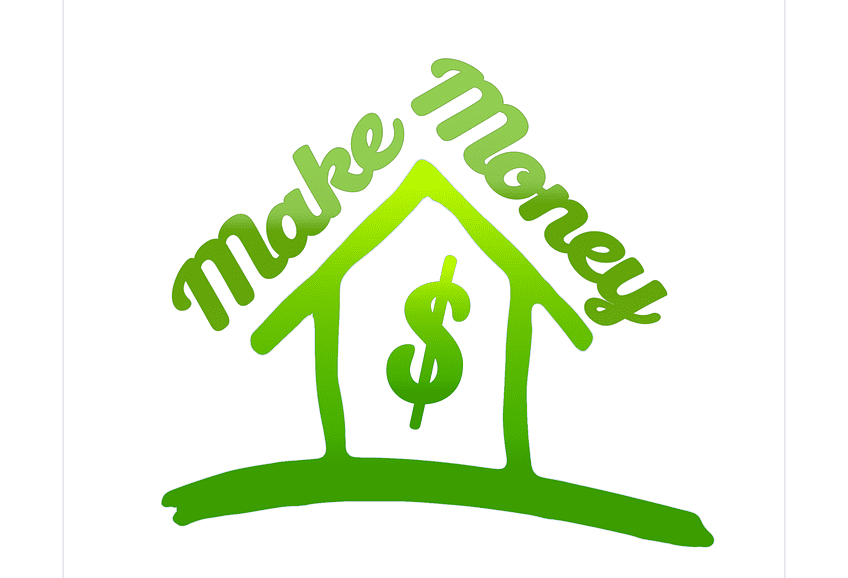Logo of making money with house investment