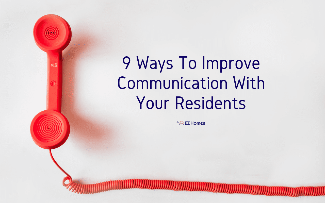 "Featured image for ""9 Ways To Improve Communication With Your Residents"" blog post"