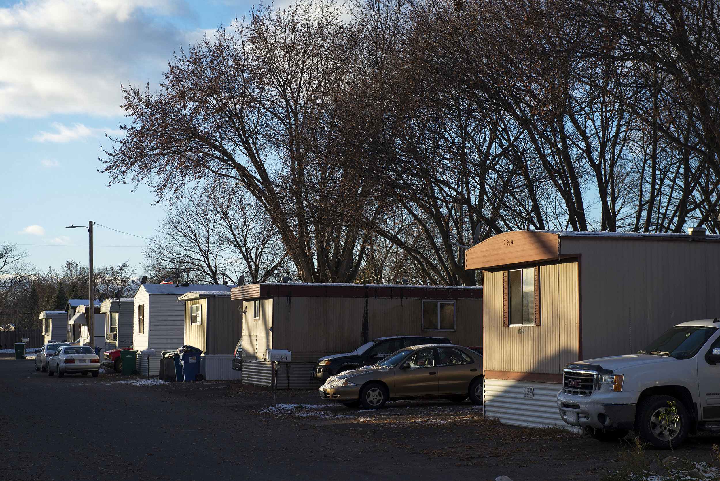 Mobile home park under coop ownership