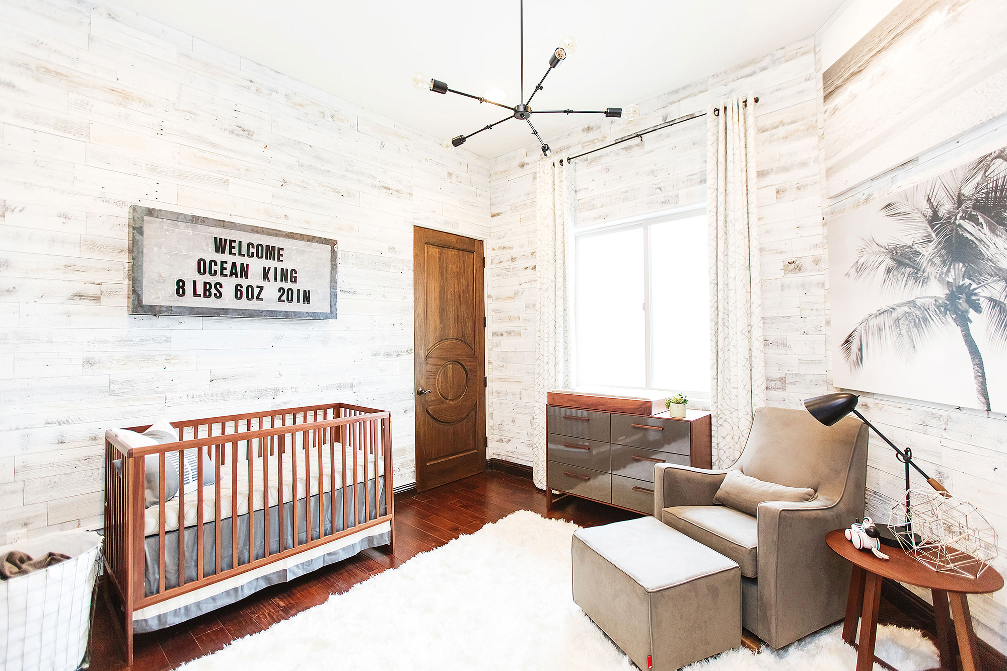 Alexa Penavega's nursery for baby boy