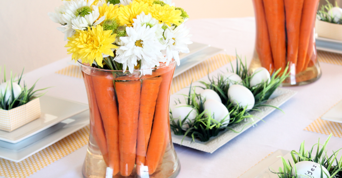 Easter centerpiece by Love Grows Wild