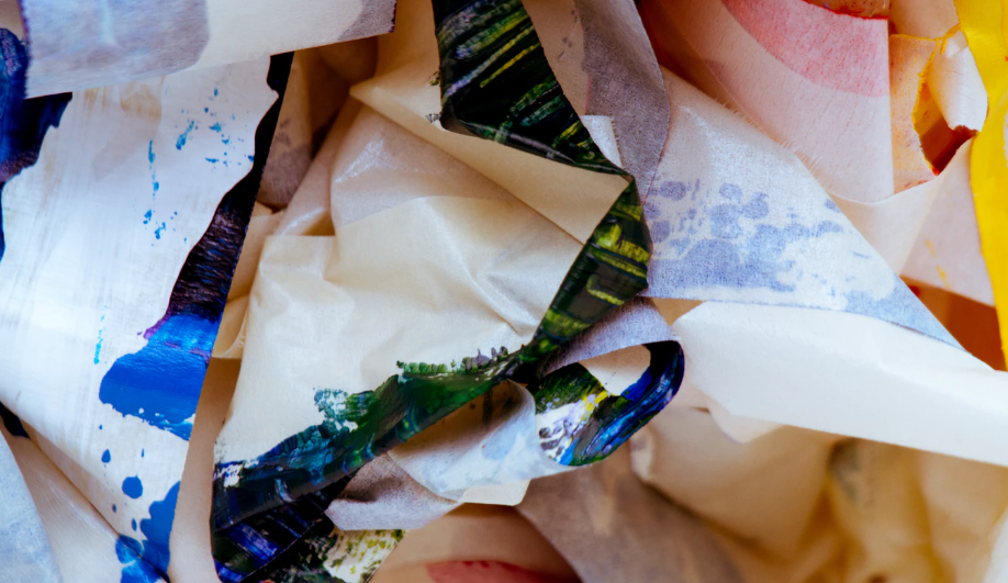 Clutter of paper