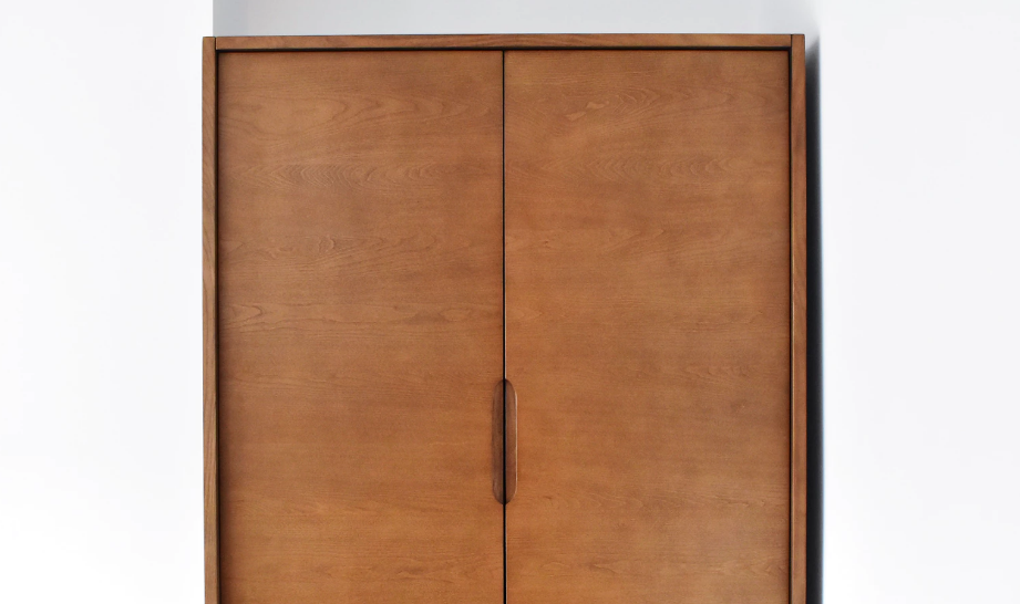 Brown armoire