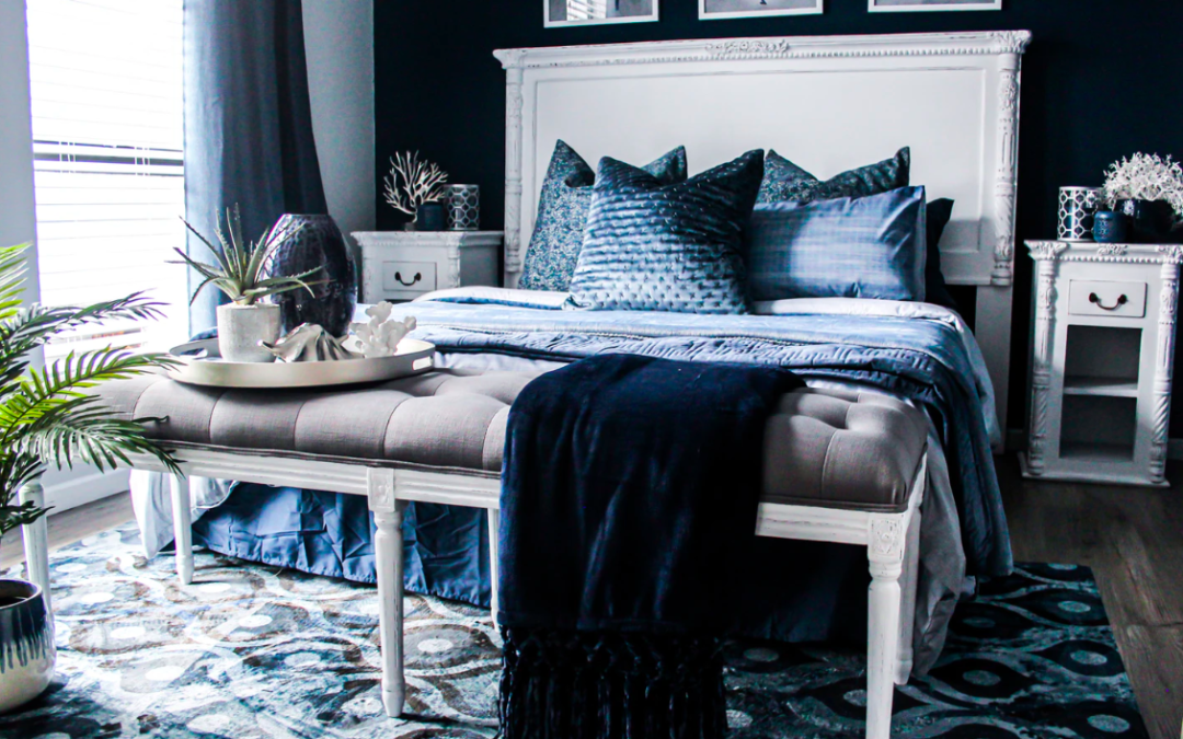 Monochromatic Palettes For Your Mobile Home: I've Got The Blues