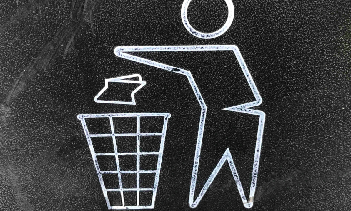 Dispose litter signage
