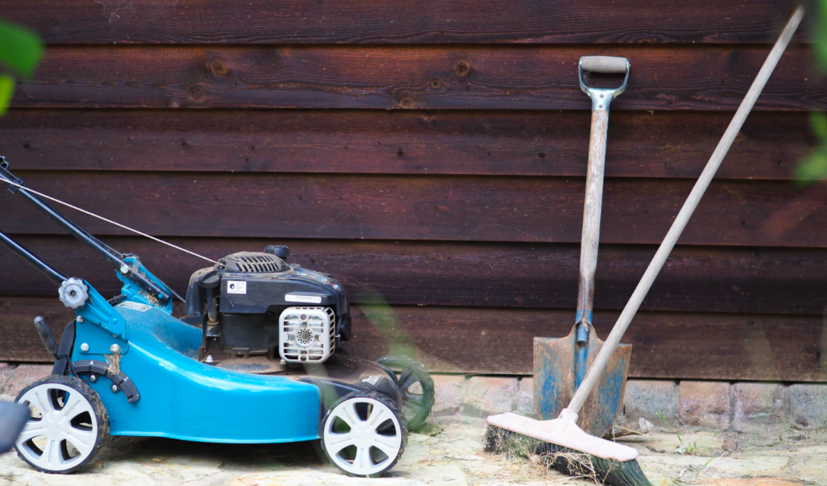 Lawn mower and gardening tools